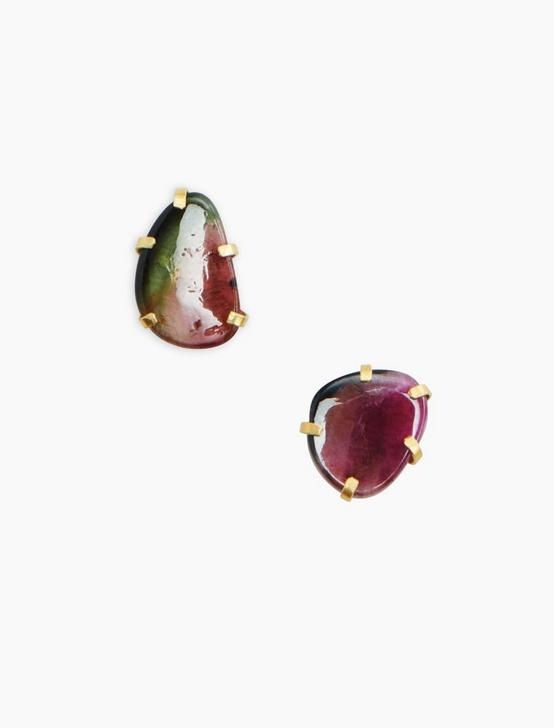 Tourmaline Earring, GOLD, productTileDesktop