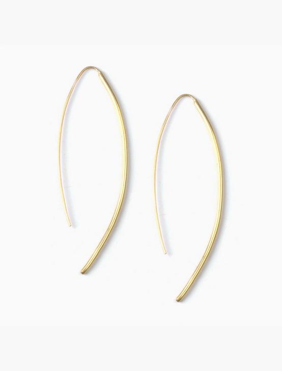 SOKO BOW EARRINGS, GOLD, productTileDesktop