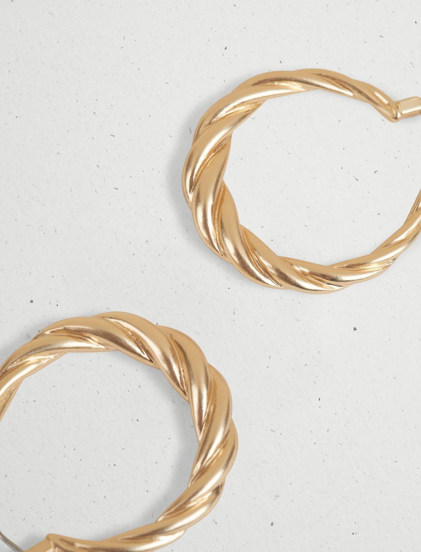 TWISTED HOOP EARRING, image 3