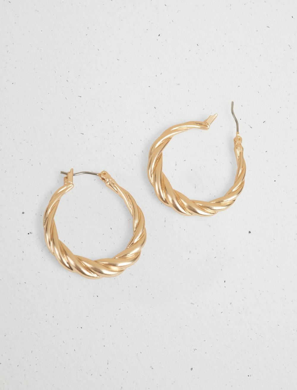 TWISTED HOOP EARRING, image 4