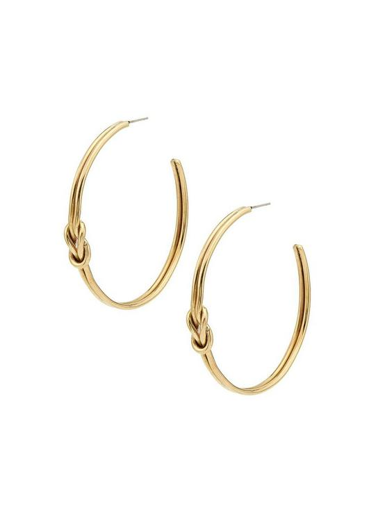 SOKO SAYO MAXI HOOPS, GOLD, productTileDesktop
