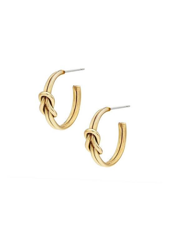 SOKO SAYO MINI HOOPS, GOLD, productTileDesktop