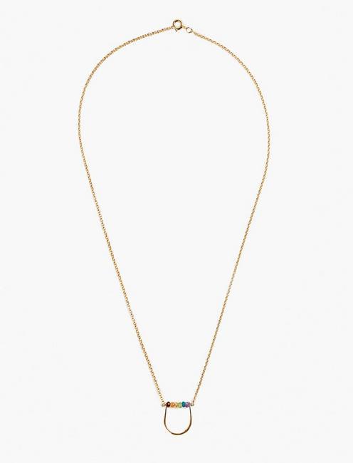 Britta Ambauen Rainbow Necklace, GOLD