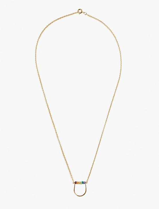 Britta Ambauen Rainbow Necklace, GOLD, productTileDesktop