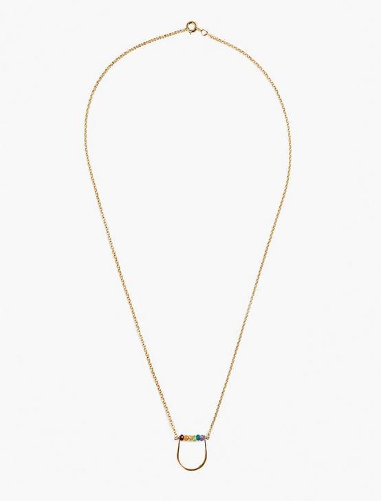 Britta Ambauen Rainbow Necklace, GOLD, productTileDesktop