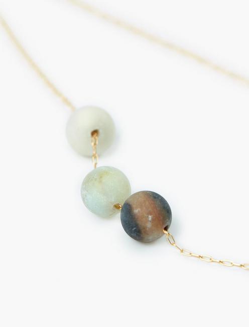 Britta Ambauen Clarity Necklace, GOLD