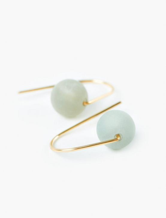 "Britta Ambauen ""I Am"" Earrings, GOLD, productTileDesktop"