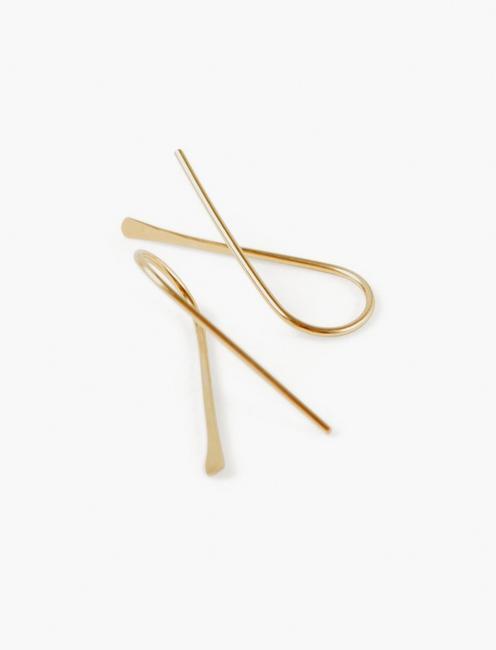 Britta Ambauen About Earrings, GOLD