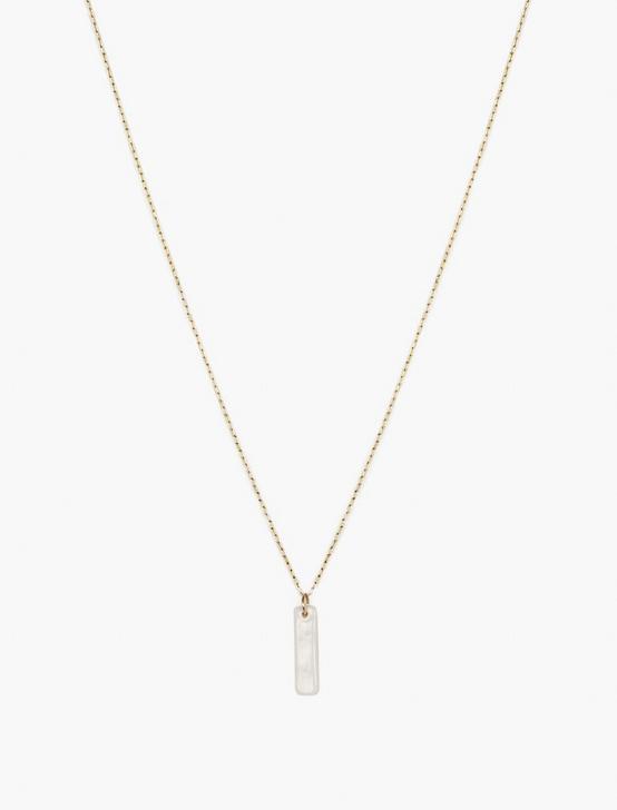 Britta Ambauen Lucky Ceramic Necklace, GOLD, productTileDesktop