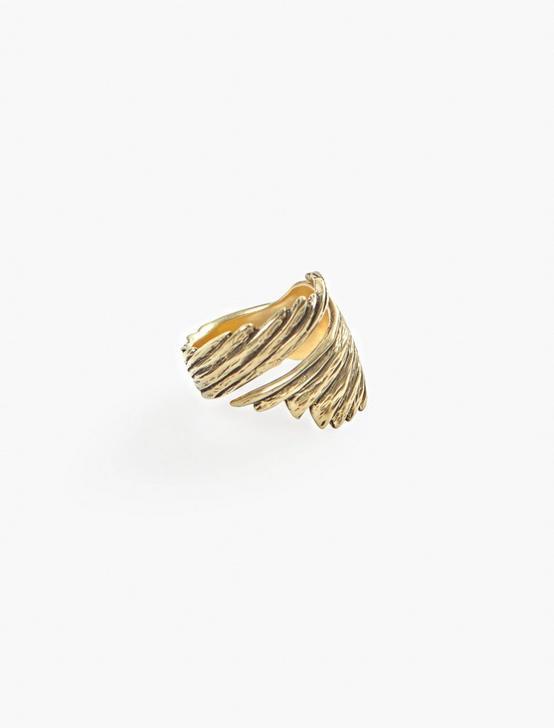 Britta Ambauen Wabi Sabi Wing Ring, GOLD, productTileDesktop