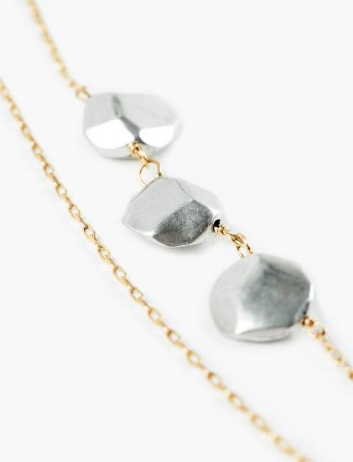 Britta Ambauen Sisterhood Necklace, TWO TONE