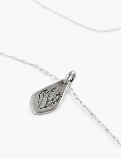 Britta Ambauen Aloe Vera Amulet Necklace, SILVER