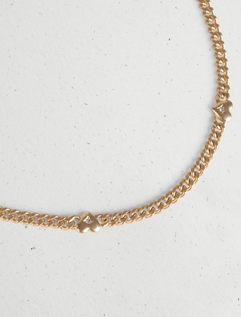 CHAIN HEART NECKLACE, image 3