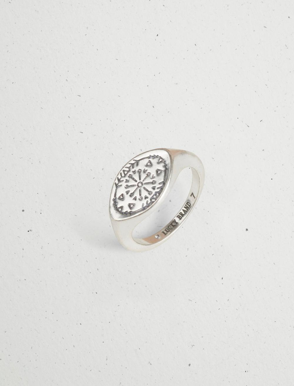 ETCHED SIGNET RING, image 2