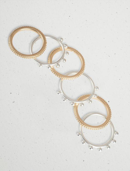 GRANULATED RING STACK, TWO TONE, productTileDesktop