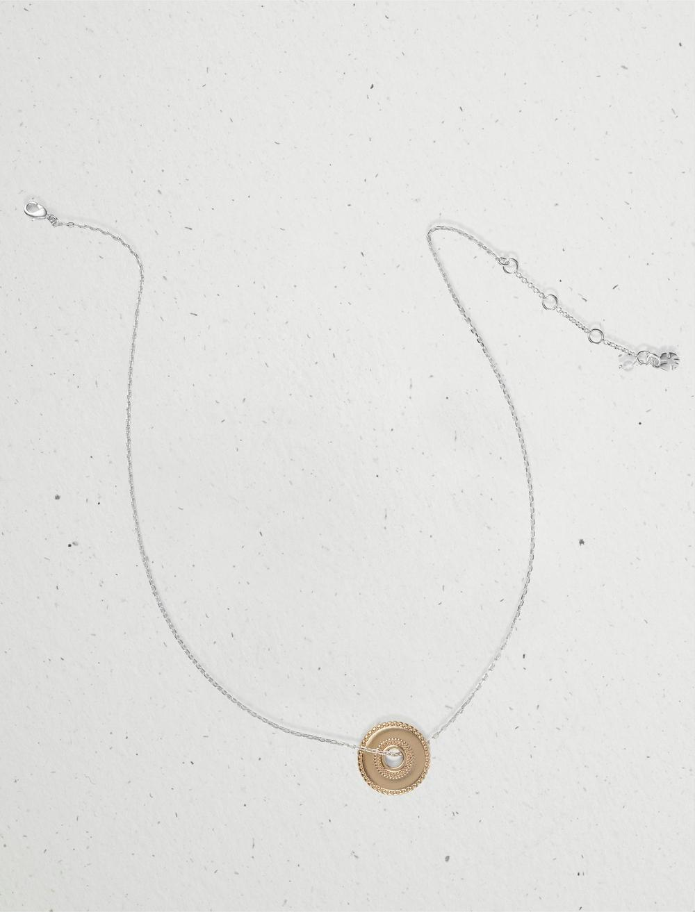 DISC COLLAR NECKLACE, image 1