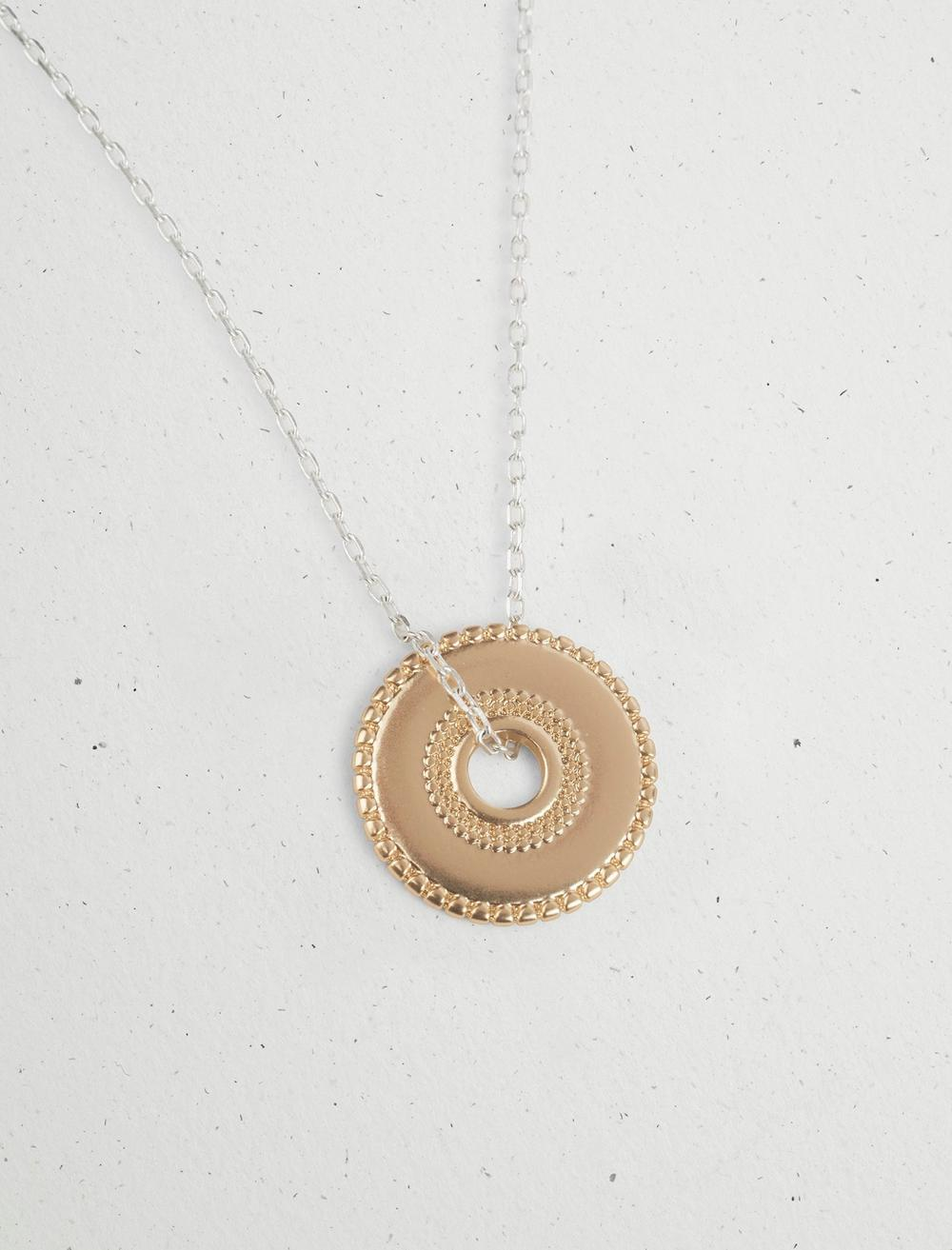 DISC COLLAR NECKLACE, image 2