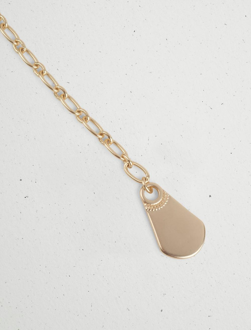 ASYMMETRICAL CHAIN Y NECKLACE, image 2