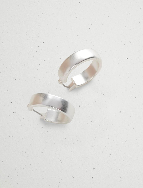 SMALL BASIC HOOP EARRING, image 2
