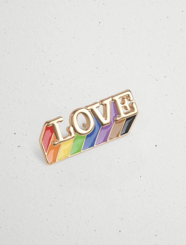 LOVE ENAMEL PRIDE PIN, image 1