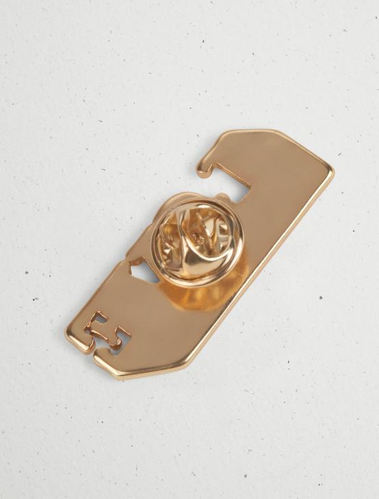 LOVE ENAMEL PRIDE PIN, GOLD, productTileDesktop