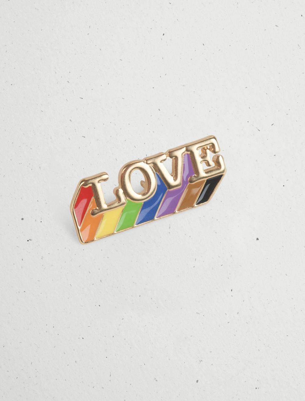LOVE ENAMEL PRIDE PIN, image 4