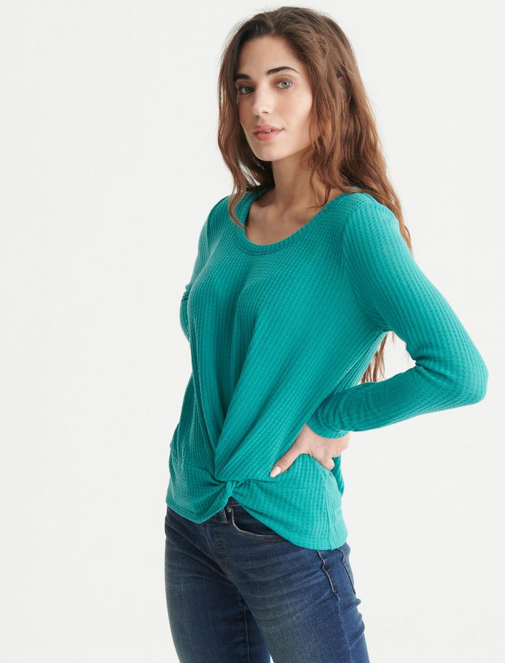 TWIST FRONT THERMAL TOP, image 3
