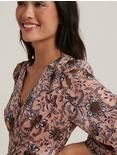 GABRIELLA MAXI DRESS, MULTI PINK