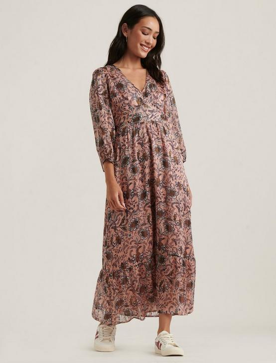 GABRIELLA MAXI DRESS, MULTI PINK, productTileDesktop