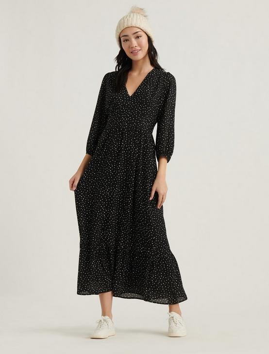 GABRIELLA MAXI DRESS, BLACK MULTI, productTileDesktop