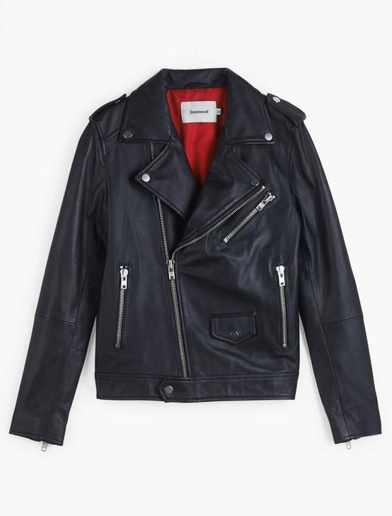 River Classic Moto Jacket, 001 LUCKY BLACK, productTileDesktop