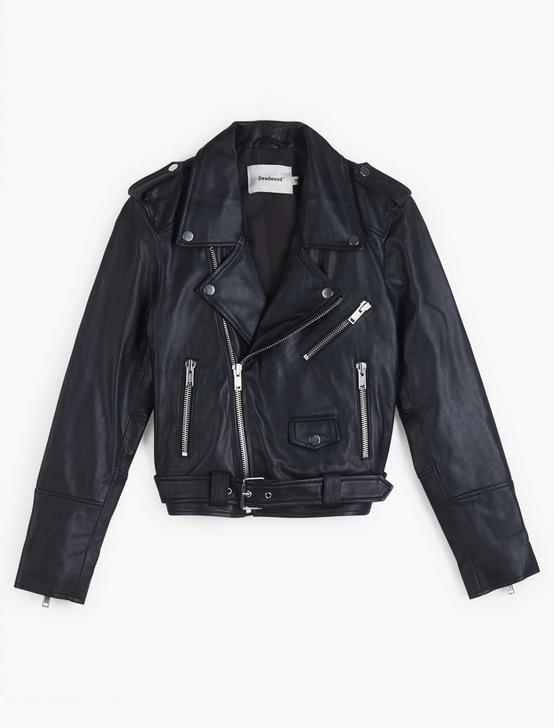 Joan Cropped Moto Jacket, 001 LUCKY BLACK, productTileDesktop