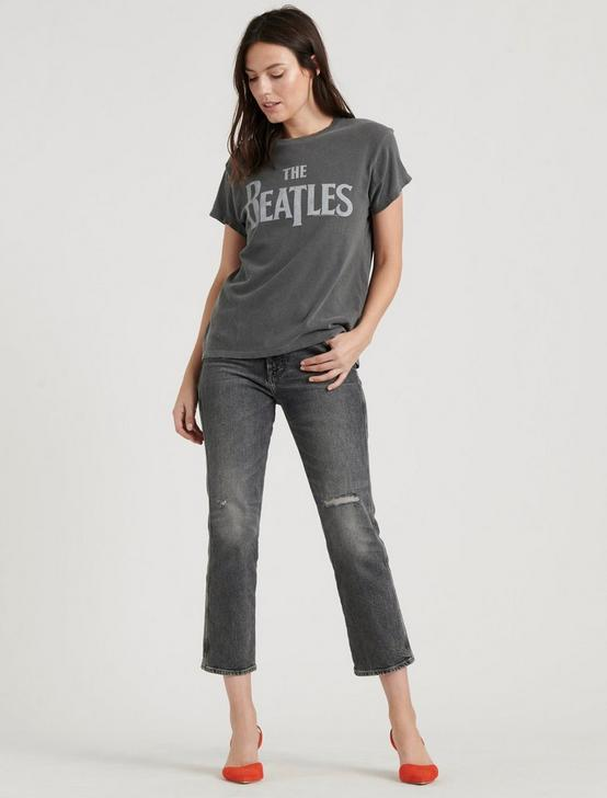 THE BEATLES TEE, 79 CHARCOAL, productTileDesktop