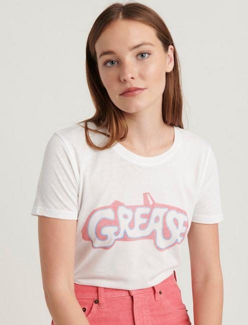 GREASE TEE, LUCKY WHITE
