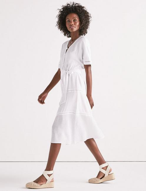 ADRIAN DRESS, LUCKY WHITE