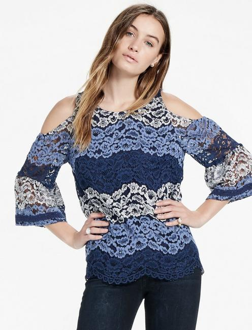 8847ca18a Lace Cold Shoulder Top | Lucky Brand