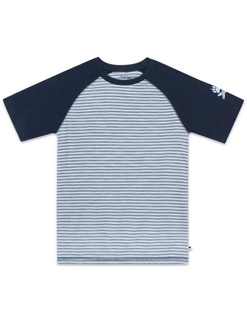 BOYS S-XL S/S ENZYME WASH KNIT,