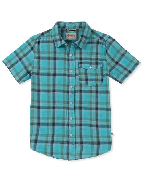 LITTLE BOYS 4/5-7 SS CALI YD POLO,