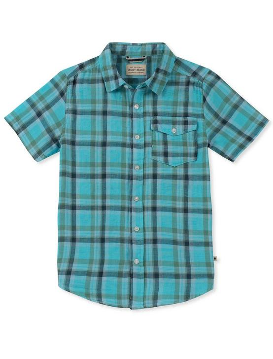 BOYS S-XL SS CALI YD POLO, LIGHT BLUE, productTileDesktop