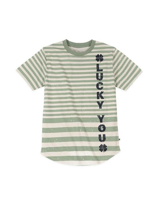 BOYS S-XL VAS TEE, DARK GREEN, productTileDesktop