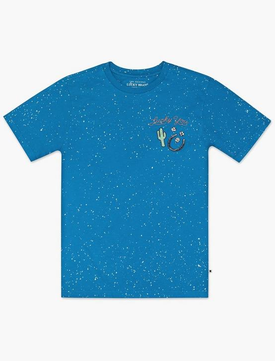 LITTLE BOYS 5-7 WANTED BEARS TEE, MEDIUM DARK BLUE, productTileDesktop