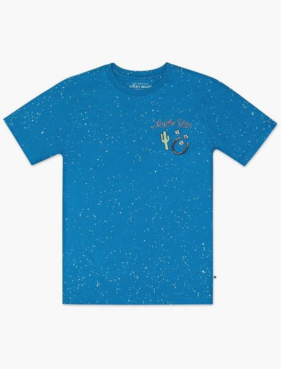 BOYS S-XL WANTED BEARS TEE, MEDIUM DARK BLUE, productTileDesktop