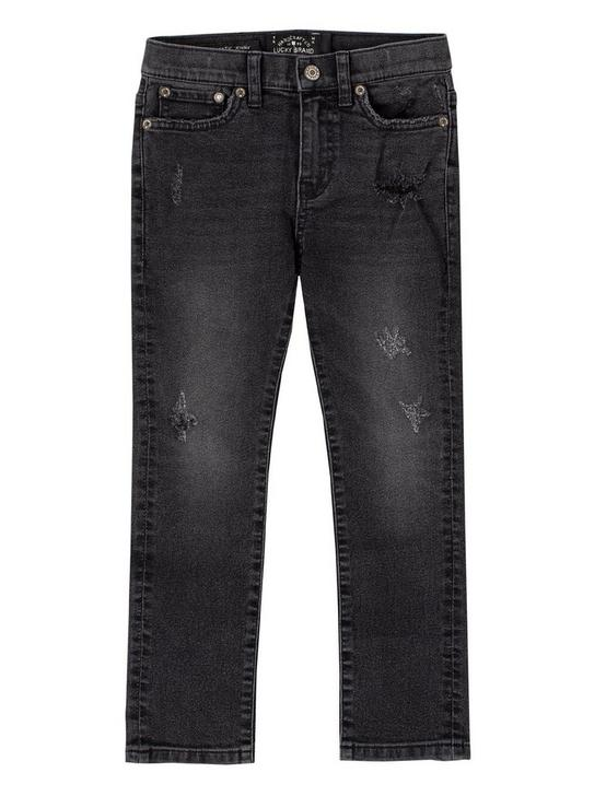 LITTLE BOYS 5-7 RINCON JEANS, FEATHER, productTileDesktop