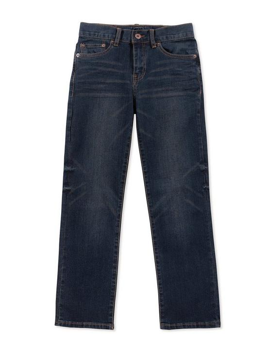 LITTLE CORE DENIM PANTS DARK BLUE