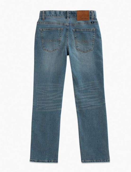 BOYS 5-7 5 POCKET DENIM PANT- CLASSIC STRAIGHT, LIGHT BLUE, productTileDesktop