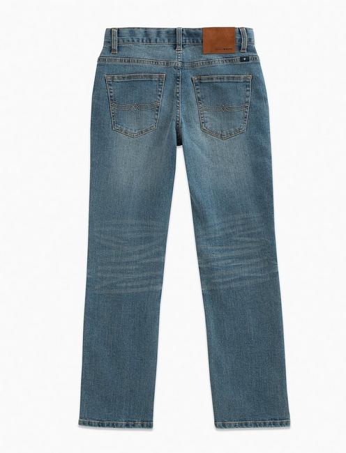 LITTLE BOYS 5-7 5 POCKET DENIM PANT- CLASSIC STRAIGHT, LIGHT BLUE
