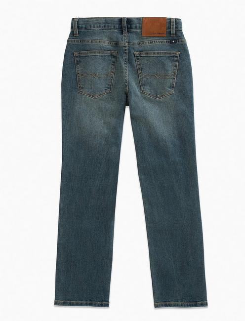 BOYS CLASSIC STRAIGHT JEANS, MID-BLUE