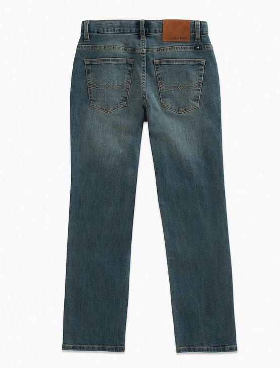 BOYS CLASSIC STRAIGHT JEANS, MID-BLUE, productTileDesktop