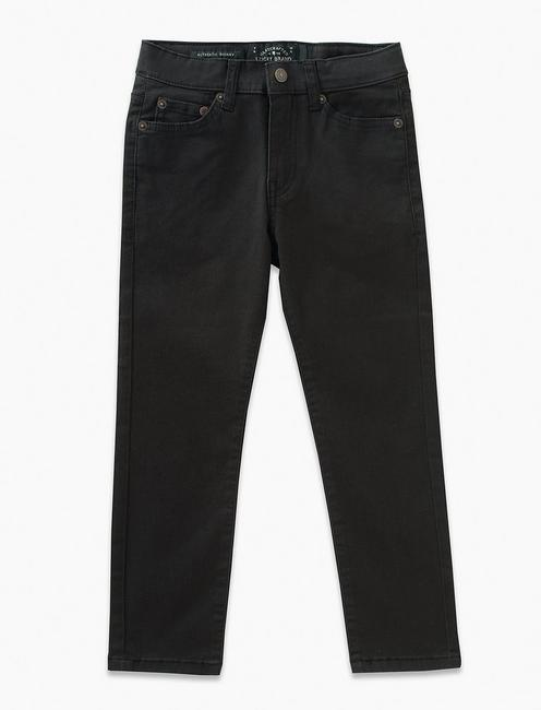 BOYS 8-20 5 POCKET STRETCH TWILL PANT,