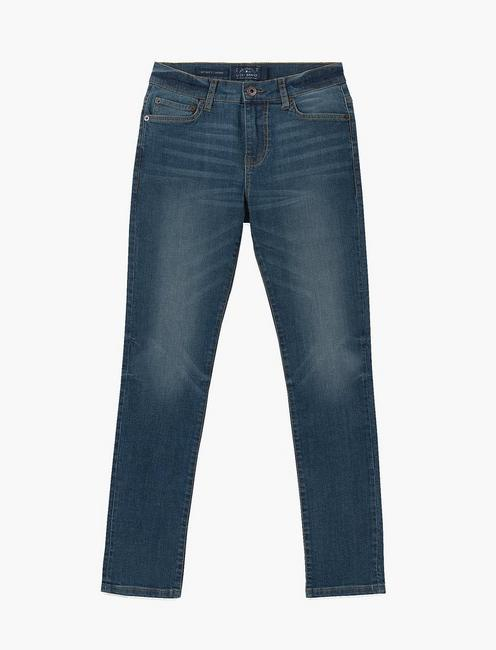 LITTLE BOYS 2T-7 5 POCKET SKINNY JEAN,